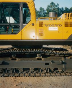 Volvo Excavator Walkway or Catwalk