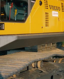 Volvo Excavator Windshield Guard EC330B